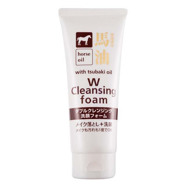 【W】馬油清潔卸妝洗面乳 130g