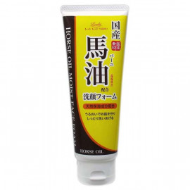 image of 【Loshi】CR馬油保濕潤澤洗面乳130g