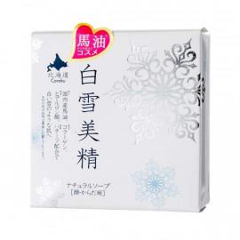 image of 【白雪美精】馬油天然保濕皂(洗臉身體用) 100g