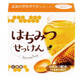 image of 【CLOVER】保濕洗顏皂-蜂蜜 80g  Honey Facial Cleansing Bar