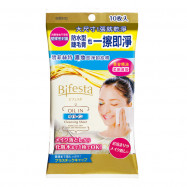 image of 【Bifesta碧菲絲特】濃妝即淨卸妝棉 10片裝 Cleansing Cotton 10PCS