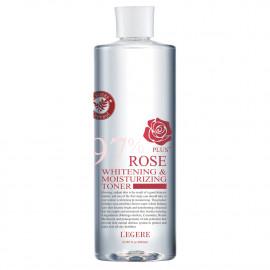 image of 【LEGERE蘭吉兒】97玫瑰淨白防護精華露 500ml 97 Rose Whitening Protective Essence 1PCS