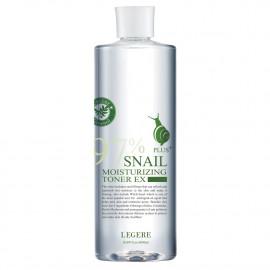 image of 【LEGERE蘭吉兒】97蝸牛保濕防護精華露 500ml 97 snail moisturizing protective essence 1PCS