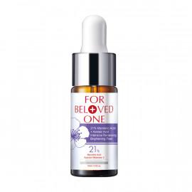 image of 【寵愛之名】杏仁花酸深層煥膚淨白精華21% Almond Blossom Acid Whitening Essence 1PCS