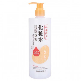 image of 【Shikioriori熊野】豆乳保濕化妝水 500ml