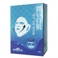 image of 【SexyLook】雙耳掛面膜 10入-01彈力白皙 Pearl Barley + Hyaluronic Acid Double Lifting Mask