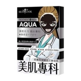 image of 【SexyLook】美肌專科黑面膜 4入-01水白 Treatment Mask 4PCS
