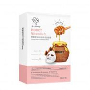 image of 【我的心機】蜂蜜維他命B.C.E面膜(共三款)8入-極致亮白 Honey Vitamin C Radiant Mask 8PCS
