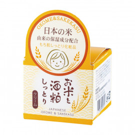 image of 【三和通商】日本米酒粕保濕霜45g Okome & Sakekasu 1PCS