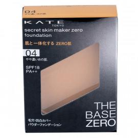 image of 【KATE凱婷】零瑕肌蜜粉餅-04健康色 9.5g Secret Skin Maker Zero Foundation 1PCS