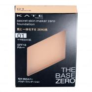 image of 【KATE凱婷】零瑕肌蜜粉餅-01柔膚色 9.5g Secret Skin Maker Zero Foundation 1PCS
