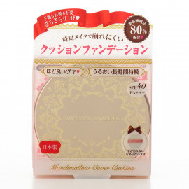 image of 【SweetsSweets】棉花糖無瑕氣墊粉餅-00亮膚色10g Marshmallow Cover Cushion 1PCS