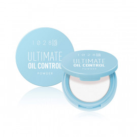 image of 【1028】超吸油蜜粉餅(透明)4.6g Ultimate Oil Control 1PCS