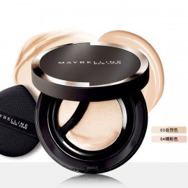 image of 【Maybelline媚比琳】2合1無瑕光圈氣墊03自然色 2-In-1 Cushion & Brightening Concealer 1PCS