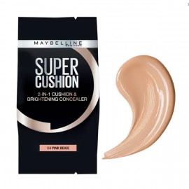 image of 【Maybelline媚比琳】2合1無瑕光圈氣墊 替換粉蕊04裸粉色 2-In-1 Cushion & Brightening Concealer 1PCS