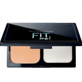image of 【Maybelline媚比琳】FIT ME反孔特霧無瑕嫩粉餅SPF32 PA+++ 230自然色 9g  Makeup Powder cake 1PCS