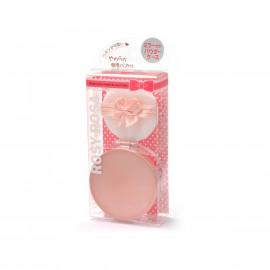 image of 【ROSY ROSA】香檳粉蜜粉隨身盒1入 Makeup powder 1PCS