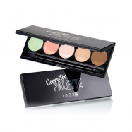 image of 【1028】臉部修修校色遮瑕盤6g Face repair school color concealer tray  1PCS