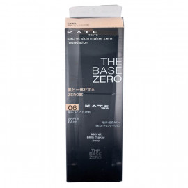 image of 【KATE凱婷】零瑕肌密粉底液-06粉膚色 30ml Secret skin maker zero foundation 1PCS