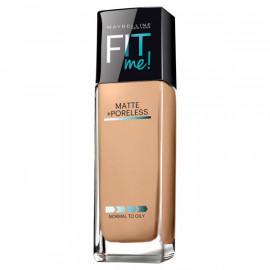 image of 【Maybelline媚比琳】FIT ME反孔特霧粉底液-220自信 30ml  Liquid foundation 1PCS