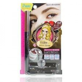 image of 【Kissme】HeavyRotation眉彩膠筆-01自然棕 Eyeliner pencil 1PCS