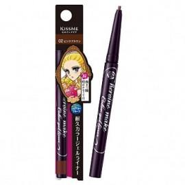 image of 【Kissme】花漾美姬淚不落絲滑瞬色眼線膠筆-02自然棕 0.1g Eyeliner pencil 1PCS