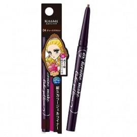 image of 【Kissme】花漾美姬淚不落絲滑瞬色眼線膠筆-04深棕 0.1g Eyeliner pencil 1PCS
