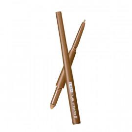 image of 【1028】眉好持色雙用細眉筆-01淺棕色 eyebrow pencil 1PCS