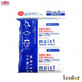 image of 日本製 Moist保濕袋裝面紙(6包入)