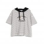 查理‧布朗滑倒連帽T恤 兩色售 Charlie Brown Slips Hooded T-Shirt