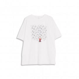 image of 查理‧布朗躲貓貓T恤 兩色售 Charlie Brown Peekaboo T-Shirt Two-Color