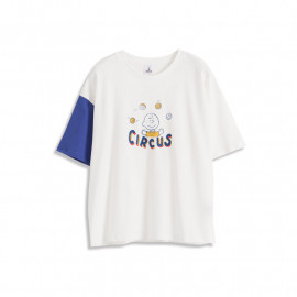 image of 查理‧布朗親子系列馬戲團T恤 Charlie Brown Family Series Circus T-Shirt