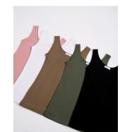 image of  多色U型領背心 五色售 Multicolor U-Neck Vest Five Colors
