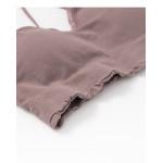 V領蕾絲後交叉背心 五色售 V-Neck Lace Back Cross Vest Five Colors