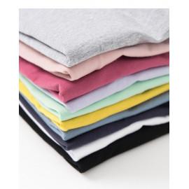 image of 基本百搭多色素面棉T 十色售 Basic Wild Multi-Pigment Cotton T Ten Colors