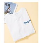 EPISTO字母印花短袖棉T EPISTO Letter Print Short Sleeve Cotton T