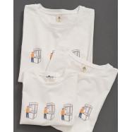 image of 童裝 親子系列 趣味夾娃娃機印花短T Children's Wear Parent-Child Series Fun Clip Doll Machine Printing Short T