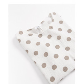 image of 點點棉麻上衣 Little Cotton And Linen Tops