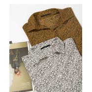 image of 滿版花瓣襯衫領上衣 兩色售 Full Version Petal Shirt Collar Top Two-Colors