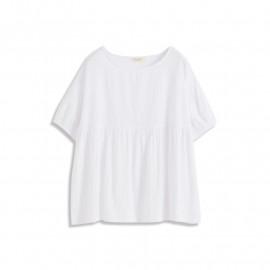 image of 低調花紋娃娃裝上衣 Low-Key Pattern Baby Dress Top