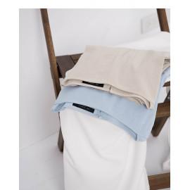 image of 簡約素色寬領口造型上衣 兩色售 Simple Plain Wide Neckline Top Coat Two Colors