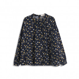 image of 滿版小碎花長袖上衣 Full Version Of Small Floral Long-Sleeved Top