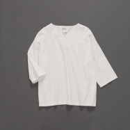 image of 女裝 親子系列V領純棉上衣 Women's Family V-Neck Cotton Top
