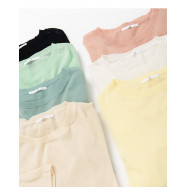 image of 百搭素色針織長袖上衣 七色售 Wild Plain Knit Long-Sleeved Top Seven Colors