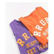 image of RRUBA字母印花短T 兩色售 RRUBA Letter Printing Short T Two Colors