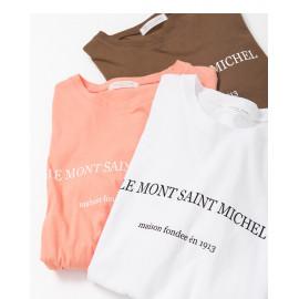 image of 簡約字母短袖棉T 三色售 Simple Letter Short-Sleeved Cotton T Three-Colors