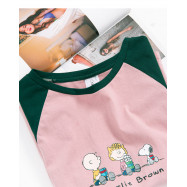 image of 查理.布朗喝熱可可T恤 Charlie Brown Drinking Hot Cocoa T-Shirt