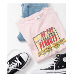 查理‧布朗好朋友GO POP印圖T恤 Charlie Brown Good friend GO POP Print T-Shirt