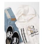 查理‧布朗與史努比連帽洋裝 Charlie Brown and Snoopy Hooded Dress