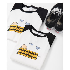 image of 查理.布朗童裝親子系列享受泡澡時光洋裝 Charlie. Brown Children's Wear Parent-Child Series Enjoy A Bath Time Dress